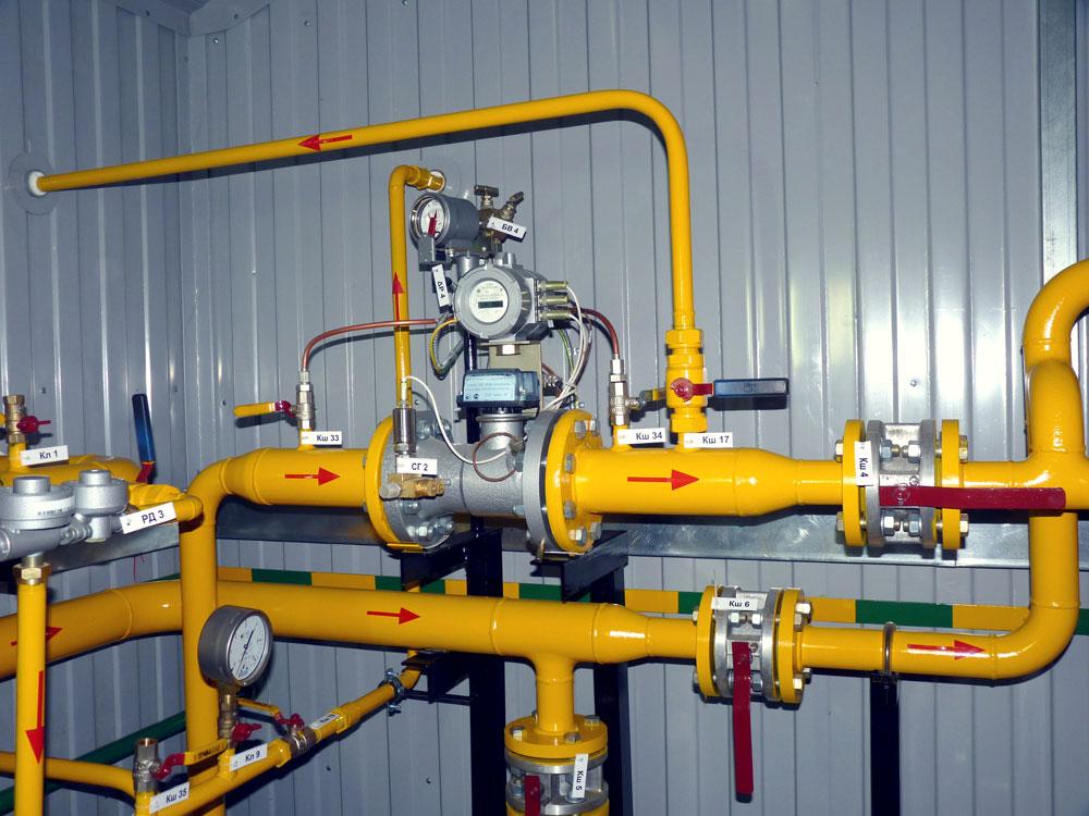 Устройства учета расхода газа